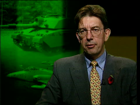 British arms sales Paul Beaver interview SOT Government could do better / Talks of further information he wants