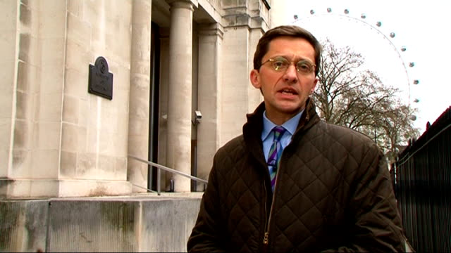 british army internal report shows failures in providing equality and diversity england london ministry of defence ext reporter to camera - 国防省点の映像素材/bロール