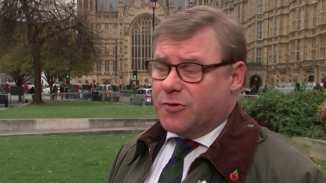British Army struggling to meet recruitment targets ENGLAND London Westminster EXT Mark Francois MP interview SOT