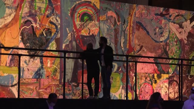 ARE: UK artist hopes world's largest art canvas sparks humanitarian movement