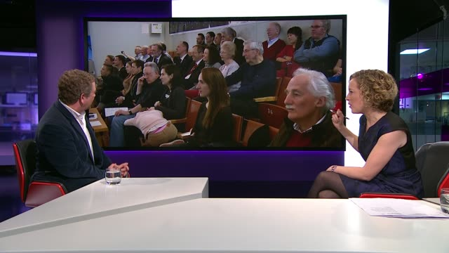 british astronaut tim peake joins crew on space station england london gir jon culshaw live studio interview sot - jon culshaw stock videos & royalty-free footage