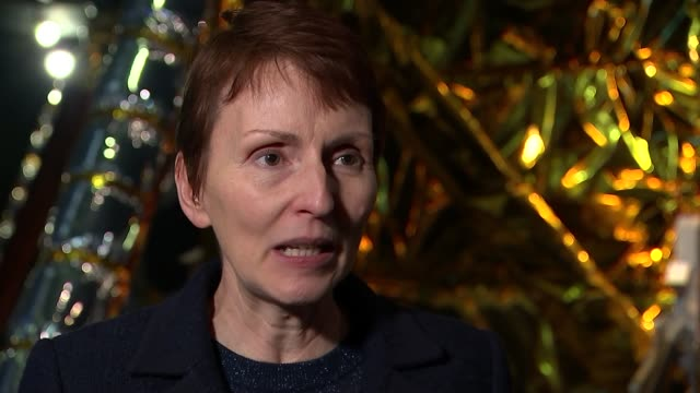 british astronaut tim peake joins crew on space station; england: london: science museum: int helen sharman interview sot - human space flight... - imagination stock videos & royalty-free footage