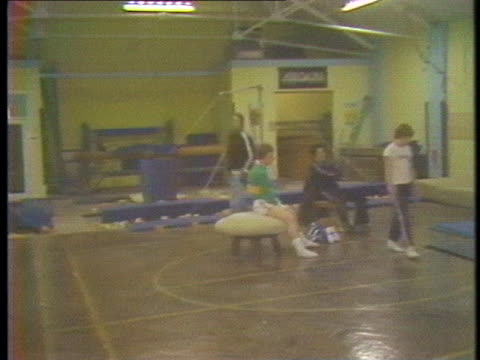 british athletes train for the 1980 moscow olympics, despite the possibility of a government boycott. - healthcare and medicine or illness or food and drink or fitness or exercise or wellbeing stock videos & royalty-free footage