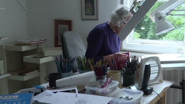 GBR: REFILE: British author Judith Kerr dies aged 95