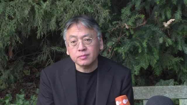 british author kazuo ishiguro best known for his novel the remains of the day and whose emotional uprooting from his native japan has left an... - kazuo ishiguro stock videos & royalty-free footage