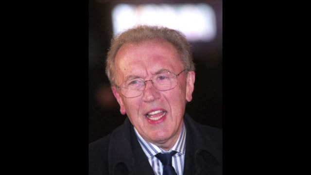 british broadcasting great david frost has died of a heart attack aged 74 his family said in a statement sunday clean british broadcaster david frost... - david frost broadcaster stock videos and b-roll footage