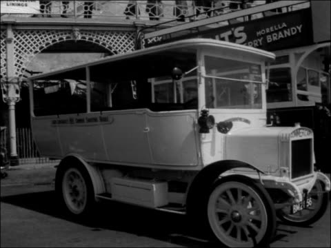 scenes from the finish line in brighton england east sussex brighton pan crowds on brighton promenade ls people looking at coaches on seafront... - east sussex stock videos & royalty-free footage