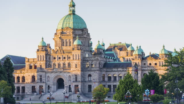 british columbia parliament buildings - traditionally canadian stock videos & royalty-free footage
