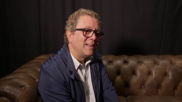 british comedian jon culshaw gives a series of his best impressions including donald trump tony blair and nigel farage he spoke during an interview... - jon culshaw stock videos & royalty-free footage