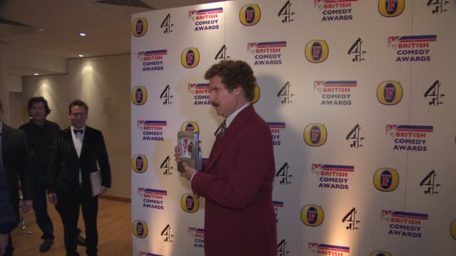 british comedy awards at fountain studios on december 12, 2013 in london, england. - steve coogan stock videos & royalty-free footage