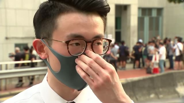 British consulate worker Simon Cheng detained by Chinese police HONG KONG Hong Kong Island Admiralty British ConsulateGeneral Phil Lau interview SOT