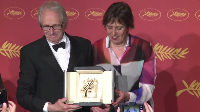 British director Ken Loach won the Palme d'Or top prize at Cannes Sunday for the second time in a decade with his moving drama I Daniel Blake about...
