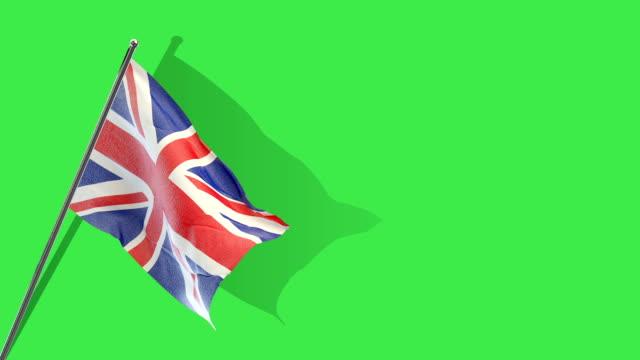 british flag Rising