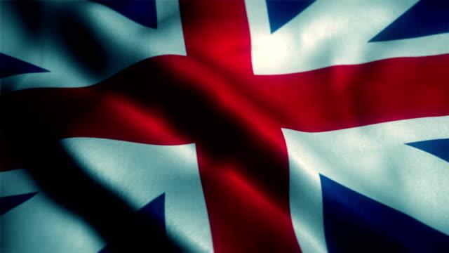 british flag, uk flag, united kingdom flag - union jack stock videos & royalty-free footage