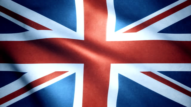 british flag - national flag stock videos & royalty-free footage