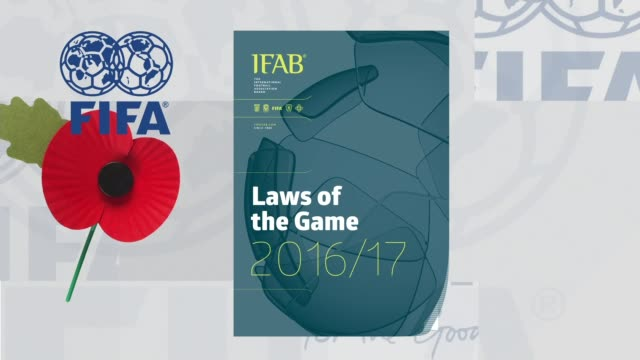 British football bosses lobby FIFA to be allowed to wear poppies to mark Armistice Day FIFA guidelines