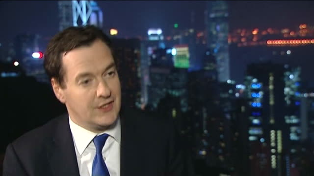 British Gas announces price rises / David Cameron urges customers to change supplier CHINA Hong Kong George Osborne MP interview SOT Incredibly hard...