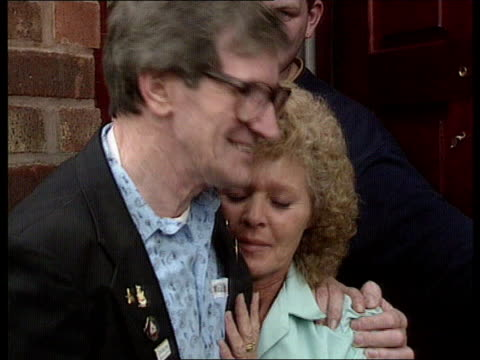 birmingham cms marilyn smith intvwd as hugging father eric sot god has answered our prayers cms press photographers cms eric smith intvwd sot i... - god stock videos & royalty-free footage