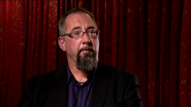 british hostage david haines killed by islamic state; england: int mike haines interview sot - my first reaction could be one of hatred but my... - mike love stock videos & royalty-free footage