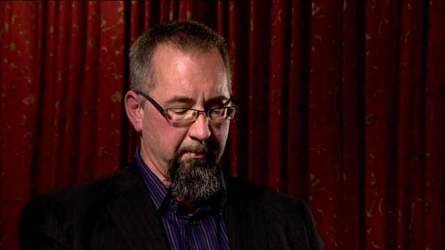 british hostage david haines killed by islamic state; england: mike haines interview sot - quotes from koran - repel thou evil with something that is... - mike love stock videos & royalty-free footage