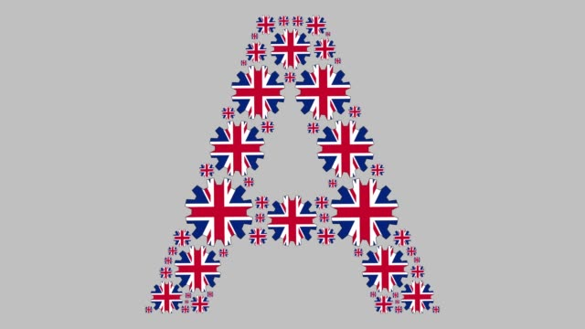 british letter a - capital letter stock videos & royalty-free footage
