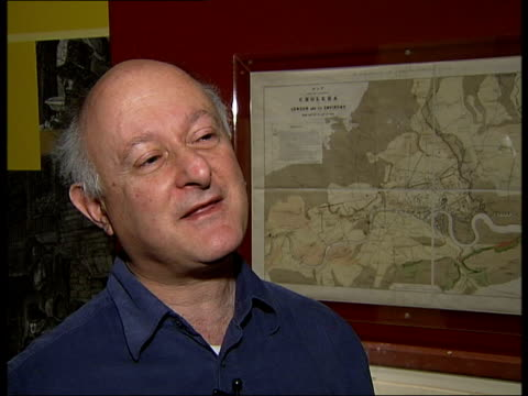 british library shows new london 'life in maps' exhibition * * music overlaid on the following shots sot * * peter barber interview sot general view... - itv london tonight weekend stock videos & royalty-free footage