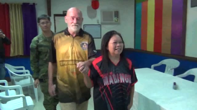 a british man and his wife rescued this week from islamist captors in the philippines south say they were chained and threatened with beheading if... - decapitated stock videos & royalty-free footage