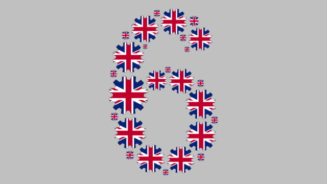 british number six - number 6 stock videos & royalty-free footage