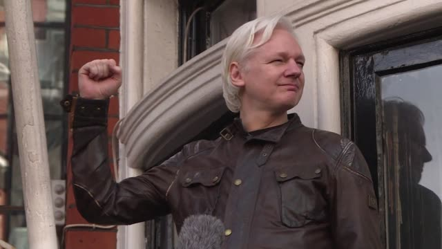 british police have arrested wikileaks founder julian assange at ecuador's embassy in london after his asylum was withdrawn the police said in a... - ecuador stock videos & royalty-free footage