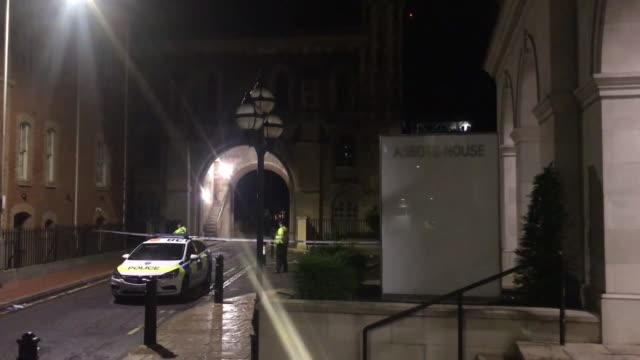 """british police on sunday, june 21, declared a recent stabbing incident that killed three people in reading a terrorist incident. """"counter terrorism... - criminal investigation stock videos & royalty-free footage"""