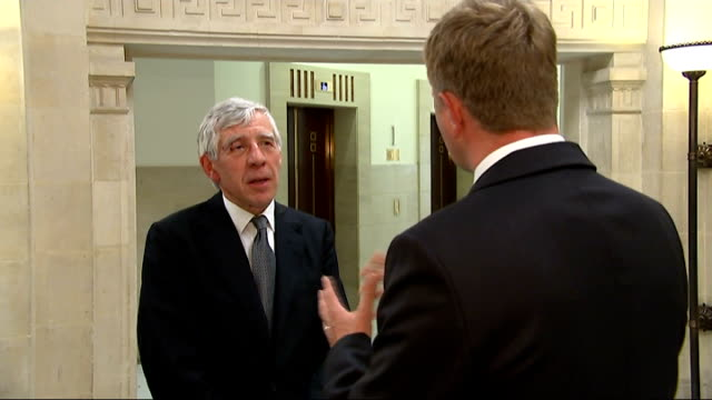 british political and military response to iraq crisis england london int jack straw mp interview sot these medieval maniacs in the socalled islamic... - jack straw stock videos and b-roll footage