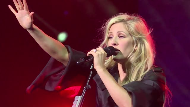 vídeos de stock, filmes e b-roll de british pop star ellie goulding performs at the opening night of mawazine music festival in rabat morocco an event that is is expected to attract... - ellie goulding