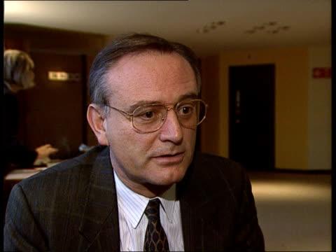 Brussels Klaus Hansch MEP intvwd SOF British presidency has been the most uninteresting ineffective since I've been an MEP