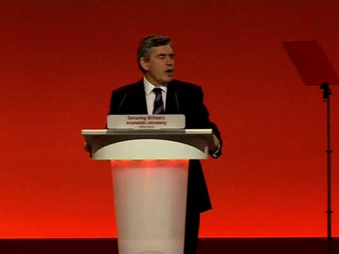 british prime minister gordon brown sought on tuesday to rally his embattled party with a raft of pledges, but questions remain over whether he can... - prime minister's questions stock videos & royalty-free footage