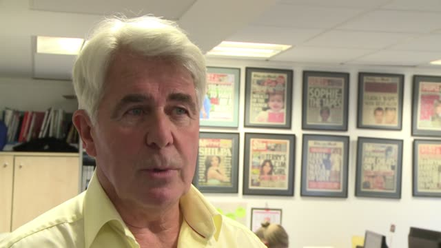 british public relations consultant max clifford says the forthcoming wedding of prince william and kate middleton is 'the media event of the year'... - greater london stock videos & royalty-free footage