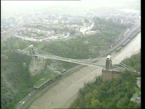 british rivers to reach eu standards; lib england: norfolk ext gvs pleasure boats along norfolk broads bristol air view clifton suspension bridge... - bristol england stock videos & royalty-free footage