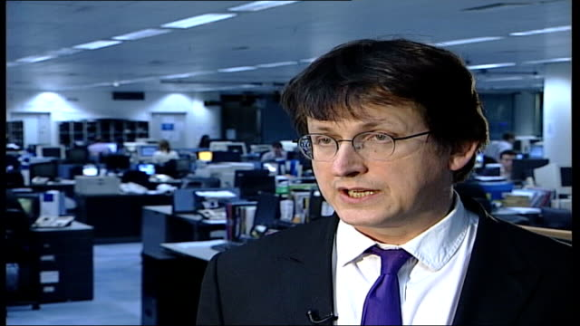 Morgan sacked from Daily Mirror ITN ENGLAND London Alan Rusbridger interview SOT Talks of being sceptical of the photographs