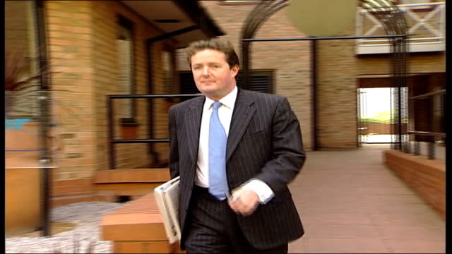 Morgan sacked from Daily Mirror ITN ENGLAND London Outgoing Daily Mirror Editor Piers Morgan along PAN and speaking to press SOT We published the...