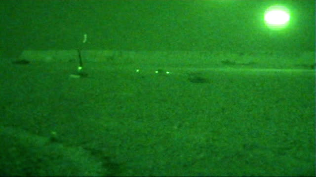 british soldiers in helmand province afghanistan helmand province sangin good shots british soldiers practising shooting rifles on firing range... - night vision stock videos and b-roll footage
