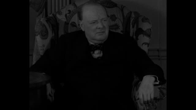 but aren't we all going through hard times there doesn't seem to be any quiet easy period of sunshine for any of the great european and american... - winston churchill stock videos & royalty-free footage