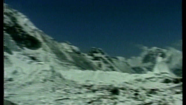 british team plans to play match on mount everest; sources all filmed today bar opening pix of everest base camp from itn libr ary may 2008 nepal:... - base camp stock videos & royalty-free footage