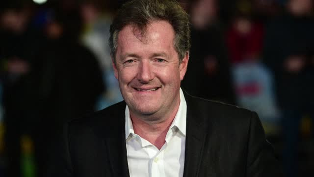 """british television host piers morgan has left his role presenting itv breakfast show """"good morning britain"""", shortly after sparking 41,000 complaints... - sparks stock videos & royalty-free footage"""