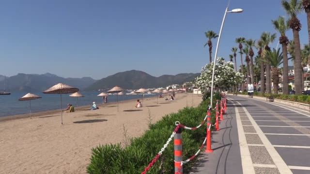 british tourists enjoy summertime in turkey thanks to measures taken against the spread of the novel coronavirus outbreak. hosting a large number of... - asian stock videos & royalty-free footage