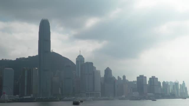 British travellers warned their phones could be checked at Hong Kong border amid human chain protests HONG GVs Skyscrapers on Hong King skyline...