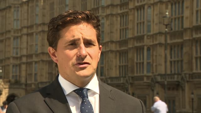 British troops and veterans to be given stronger protection against prosecution ENGLAND London Westminster EXT Johnny Mercer MP interview SOT