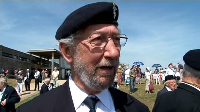 british veterans of korean war honour comrades at national arboretum; john finlayson sot / jim angel sot / bernard tucker sot - tucker stock videos & royalty-free footage
