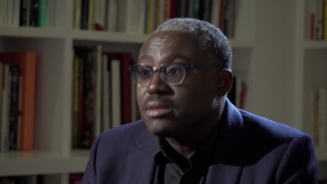 british vogue editorinchief edward enninful talking about the time he was racially profiled at the magazine's offices - magazine stock videos & royalty-free footage
