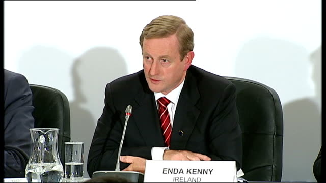 BritishIrish Council summit on energy policy and economic recovery press conference Question from press to Enda Kenny and Nick Clegg SOT Are Britain...