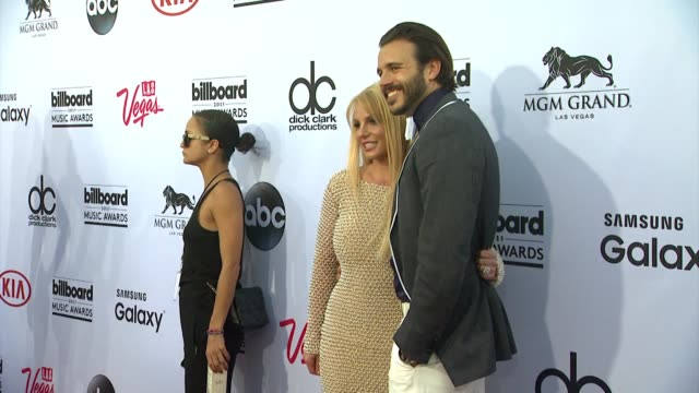 Britney Spears and Charlie Ebersol at MGM Grand on May 17 2015 in Las Vegas Nevada