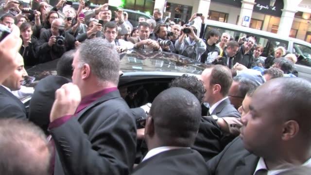 britney spears and her boyfriend jason trawick on october 06 2011 in paris france - boyfriend stock videos & royalty-free footage